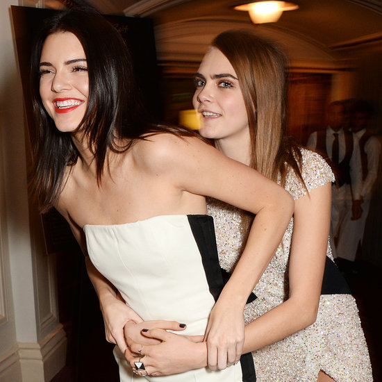 Kendall Jenner and Cara Delevingne Are BFFs