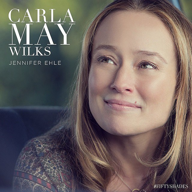 Jennifer Ehle plays Ana's mother, Carla May Wilks.