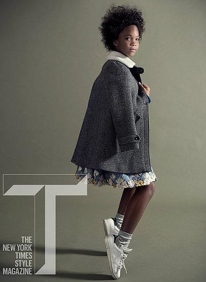 Quvenzhané Wallis Experiences Fashion Awakening on 'T' Cover