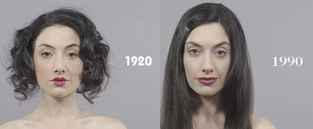 This Video Showing Beauty Trends of the Past 100 Years Is Mesmerizing