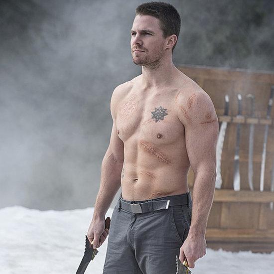 Shirtless TV Scenes in 2014