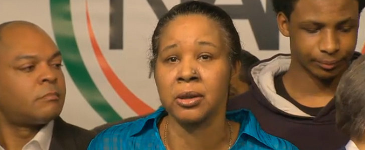 "Eric Garner's Wife Says ""Hell No"" She Doesn't Accept the Cop's Apology"