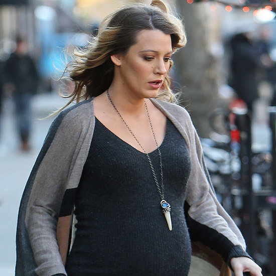 Pictures of Pregnant Blake Lively and Ryan Reynolds Together