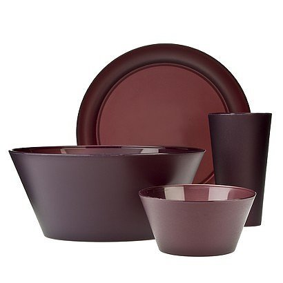 Polypropylene 13 piece dinnerware set 15