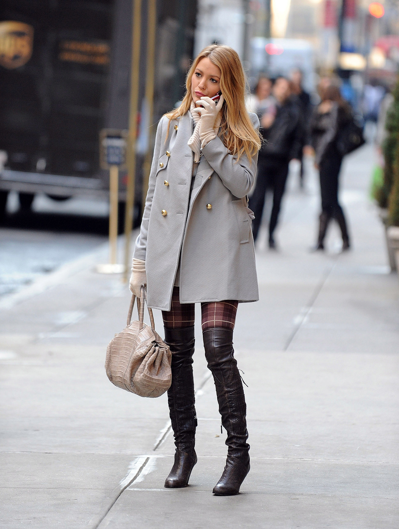 Sky high boots 64 times blake lively gave us major Fashion style of gossip girl