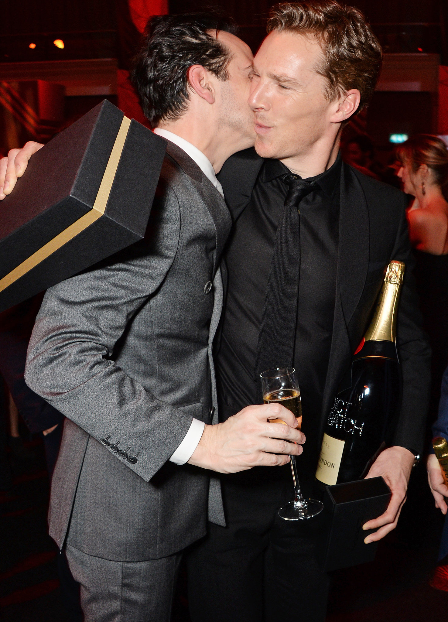 """️ Have they all been in a """"flirty mood"""" during the party ...  