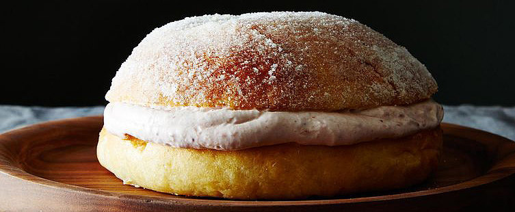 Sufganiyot 2.0: A Giant Jelly Doughnut Cake For Hanukkah