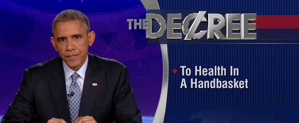 President Obama Takes Over The Colbert Report Because He Can
