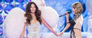 """Victoria's Secret Models Are Just Like Us! Watch Them Lip-Sync """"Shake It Off"""""""