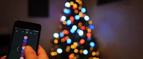 The Holiday Lights You Can Control With Your Phone