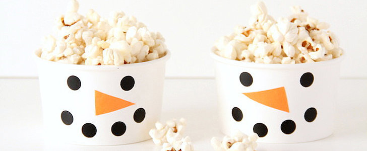 Snowman Snack Cups You Can DIY For an Extraspecial Kids' Holiday Party