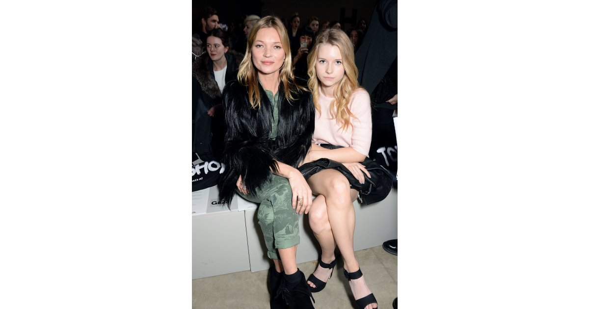Kate And Lottie Moss Sat Front Row At A Fashion Show 13 Moments That Made Us Wish We Had A