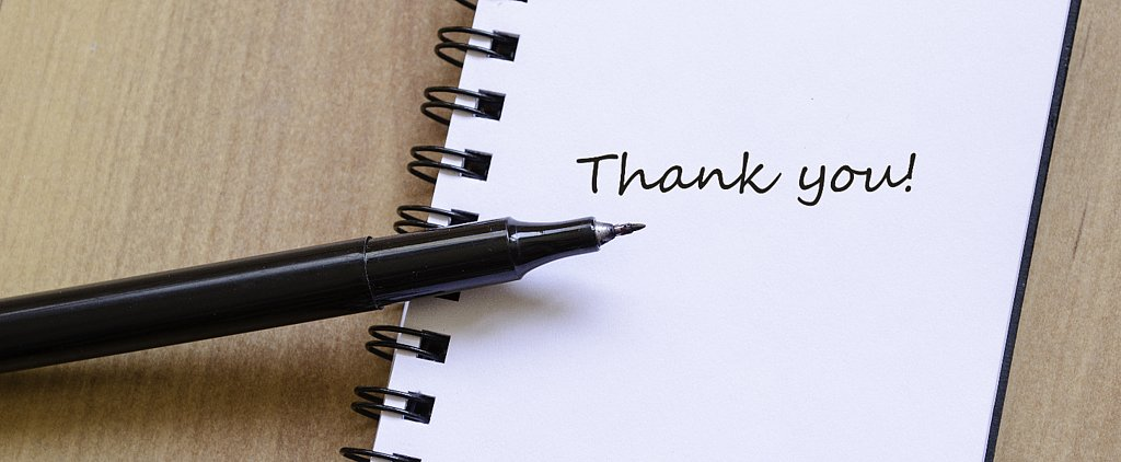 3 Rules of Thank-You-Letter Writing