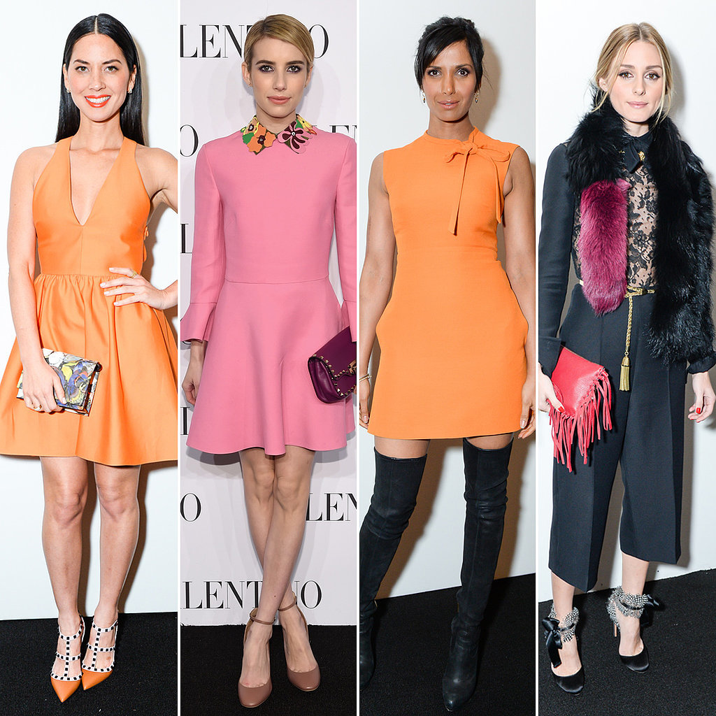Orange Was the New Black at Last Night's Valentino Event