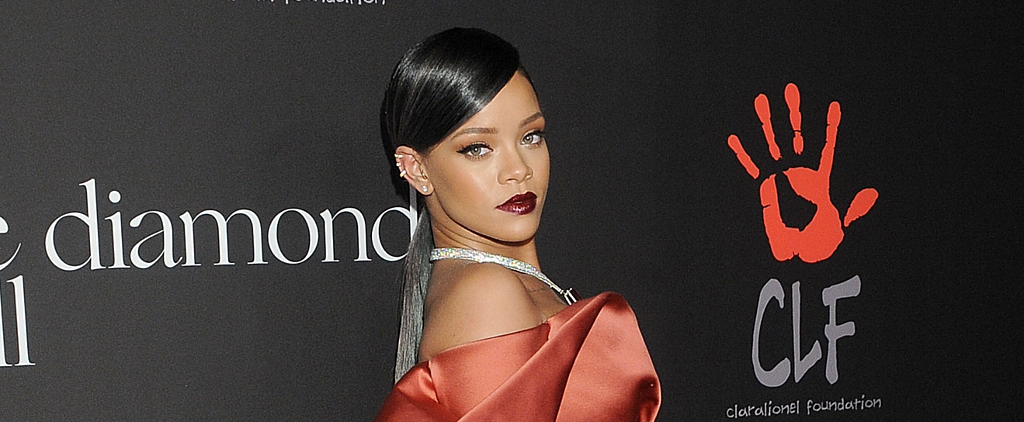 Rihanna's Ruby Pout Isn't Your Average Holiday Red Lip