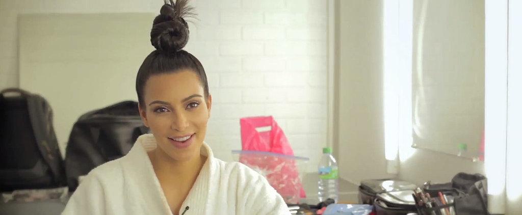 "And Now, Here's Kim Kardashian's Impression of ""Broom Broom"""