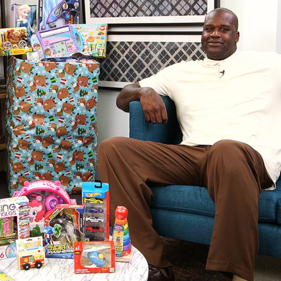 Shaq Works With Toys For Tots | 2014