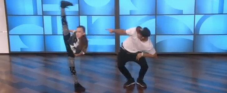 The Incredible 11-Year-Old Dancer Strikes Again on Ellen!