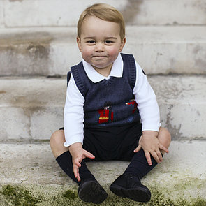 Prince George's Official Christmas Portraits