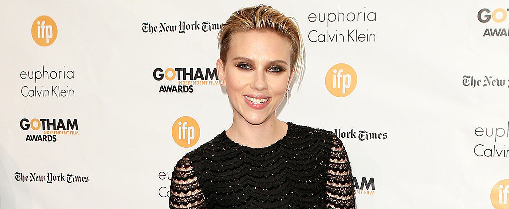 "Scarlett Johansson Thinks Her Body Is Just ""OK"""