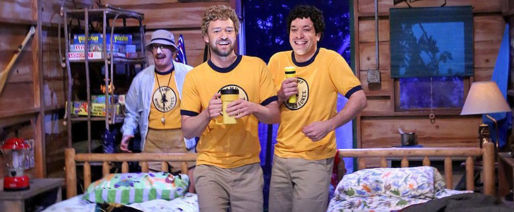 Jimmy Fallon and Justin Timberlake Throw It All the Way Back to Sleepaway Camp