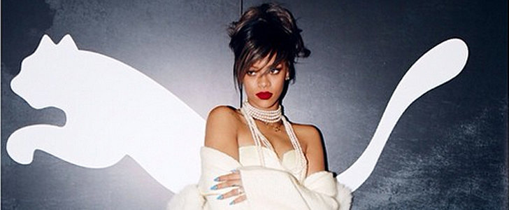 Rihanna Debuted Her New Gig For Puma on Instagram