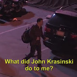 Video: John Krasinski Pranks Jimmy Kimmel 2014