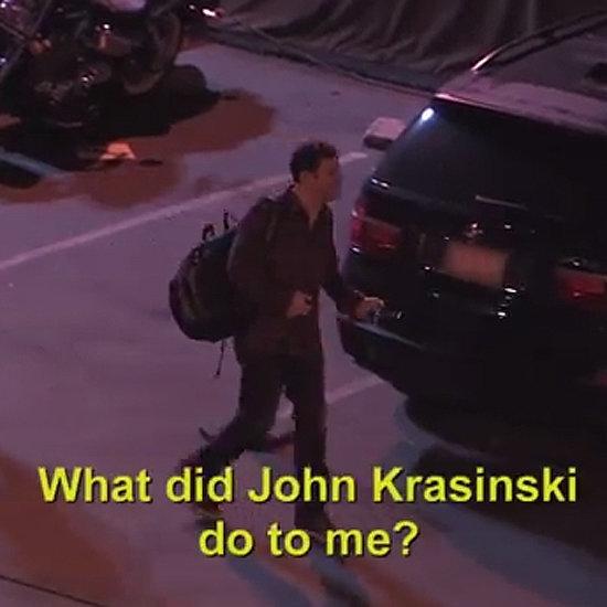 John Krasinski Pranks Jimmy Kimmel 2014   Video