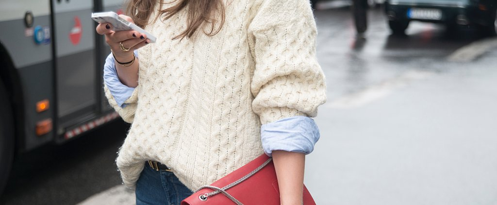 Up Your Sweater Game With This Styling Trick