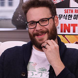 Seth Rogen Laughing