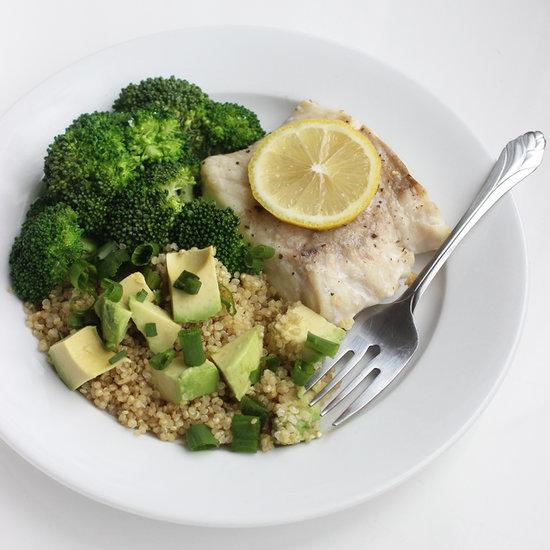 Fish and Quinoa Salad Recipe