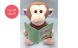 Recall Alert! Giggles International Animated Sing-Along Monkey