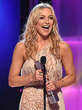 PEOPLE Magazine Awards: Kate Hudson Says Mom Goldie Hawn Is Her Role Model