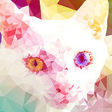 We Chat With Kevin Halfhill About His Geometric Cat Portraits