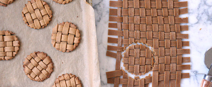 Lattice Pie Crusts? Nope! They're Gingerbread Cookies