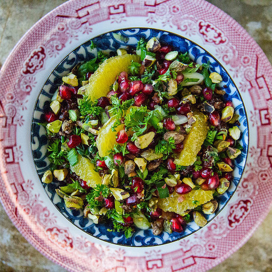 Quinoa Salad With Pomegranates, Pistachios, and Bacon