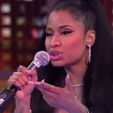 Nicki Minaj Freestyles on Inside the NBA | Video