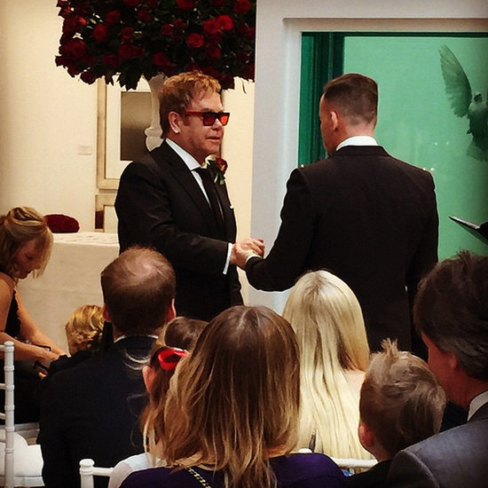 Elton John's Wedding | Pictures
