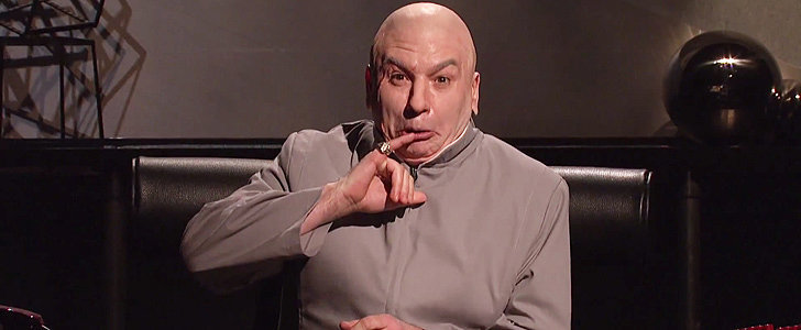Dr. Evil Resurfaces on Saturday Night Live to Address the Sony Hackers