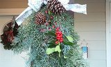 MAKE THIS: A Holiday Wreath From Real Tree Boughs