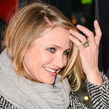 Cameron Diaz Engagement Ring Pictures
