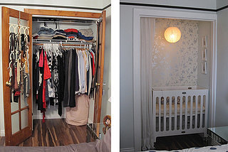How to Convert a Closet Into a Baby Nursery