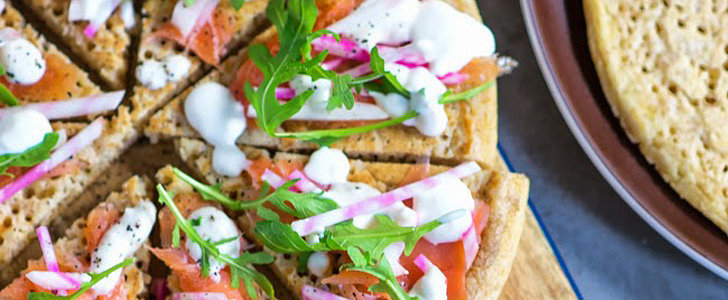 "Blini ""Pizza"" Is Perfect For a Crowd"
