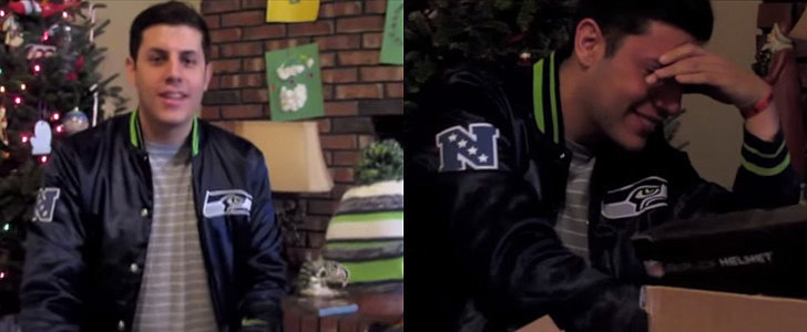 The Seattle Seahawks Make a Grown Man Cry With Their Surprise Christmas Gift