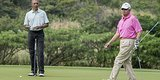 Malaysian Leader Joins Obama For Round Of Golf In Hawaii