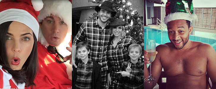 See How Your Favorite Stars Are Celebrating Christmas!