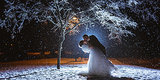 19 Snowy Wedding Photos That Will Warm You From The Inside Out