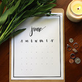 POPSUGAR Shout Out: Perfectly Printable 2015 Calendars