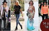 The 14 Brands Celebrities Could Not Stop Wearing In 2014