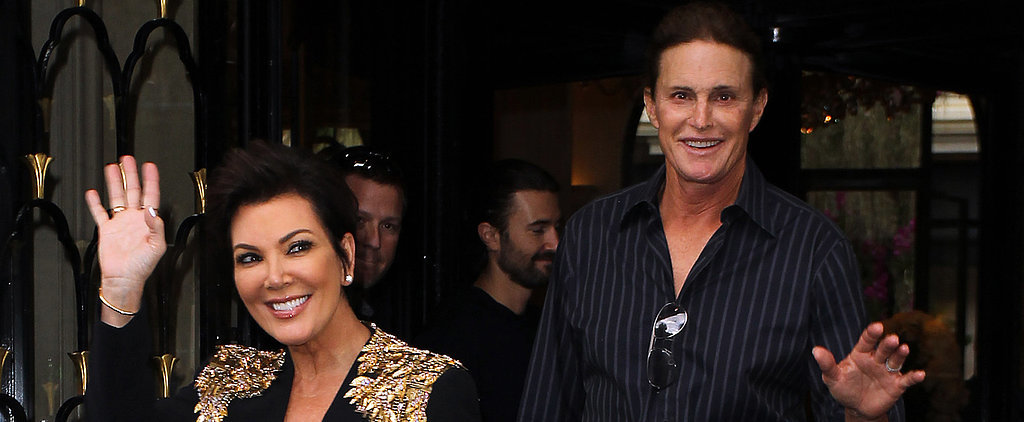 Bruce and Kris Jenner Reunite on Christmas Eve